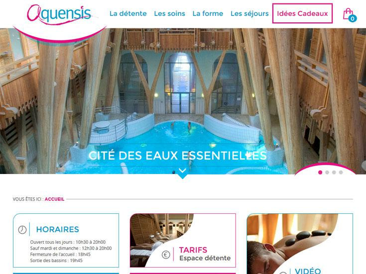 Aquenis, cité des eaux essentielles à Bagnères de Bigorre